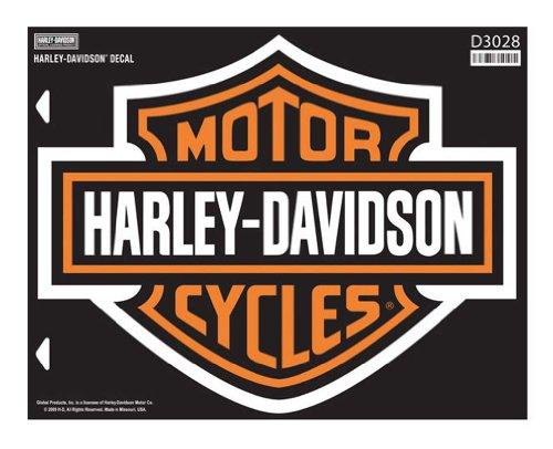 Harley-Davidson Bar & Shield X-Large Decal, X-Large Size Sticker D3028