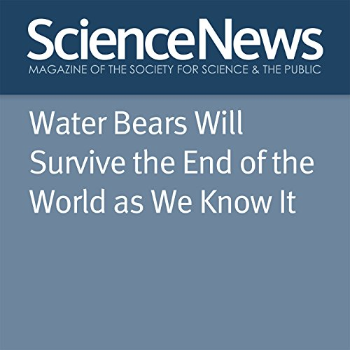 Water Bears Will Survive the End of the World as We Know It cover art
