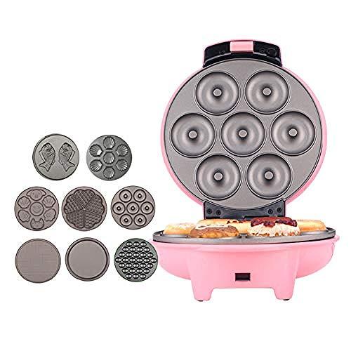 Home Mini-wafelijzer, Sandwich-broodrooster, Temperatuur- en tijdregeling, Portable Travel Essential, Geschikt voor Bakery Snack Bar Family