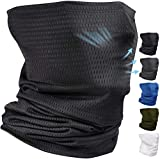 BISMAADH Unisex Lightweight Neck Gaiter Face Mask Balaclava Face Cover Scarf Anti-Pollution Dust Protection, Running, Sun Protection, Windproof, Breathable, Hiking, Running & Cycling for Men & Women