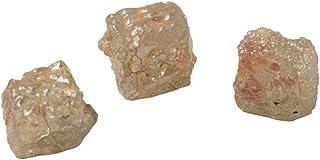 Instagem 4.50-4.84 Cts Cube-Shaped Assorted Color - A Collectors Item (3 pcs) Loose Rough Diamonds