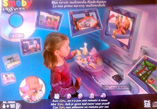 Ma premiere nursery multimédia Smoby Players CD ROM PC +un surclavier nursery