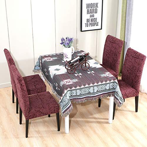 NIKIMI Hohe Elastizität Stuhl Schonbezug Sets Abnehmbare Klapp Esszimmerstuhl Sitzbezug Schonbezug für Home Bankett Hotel