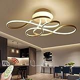 Plafonnier LED Dimmable avec Télécommande Plafonniers Moderne Lampe Acrylique Lampe...