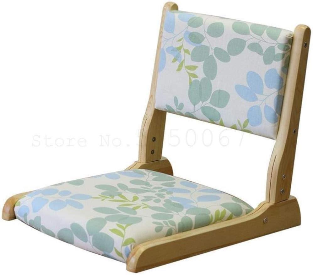 Mnbvcxzey Chaise Tatami en Bois Massif, Tabouret et Chaise de Chambre, Chaise sans Jambes, Dossier, Marche sur Le Plancher de Riz, modèle9 Model 14