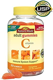 Nature Made Vitamin C Adult Gummies, 80 Count (Pack of 3)