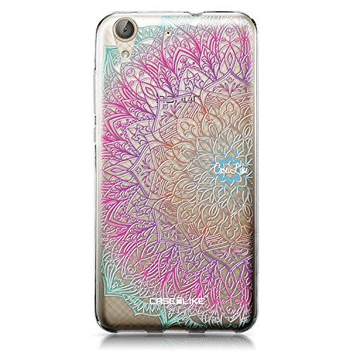 CASEiLIKE Funda Huawei Y6 II, Carcasa Huawei Y6 II/Honor Holly 3, Arte de la Mandala 2090, TPU Gel Silicone Protectora Cover