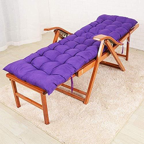 N/Z Wohngeräte Bambus Liege Haushalt Freizeit Klapp Liege Faul Mittagspause Gartenmöbel (Farbe: Langes Kissen)