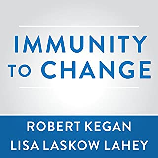 Immunity to Change audiobook cover art
