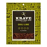 KRAVE Jerky Gourmet Beef Cuts, Chili Lime, 2.7 Ounce