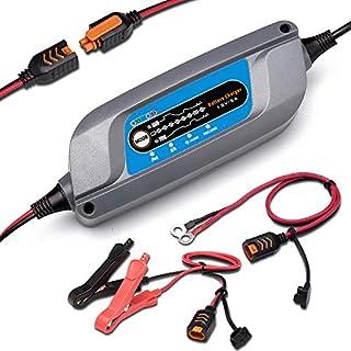 FlowersSea Chargeur de Batterie 12 V//24 V Maintien Automatique et Intelligent avec Plusieurs Protections pour Voitures Motos