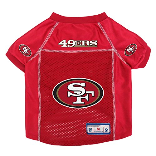 NFL San Francisco 49ers Pet Jersey, Large