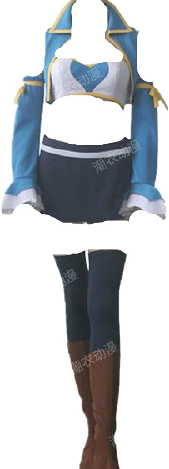Fairy Tail Lucy Heartfilia 7 years later cosplay costume