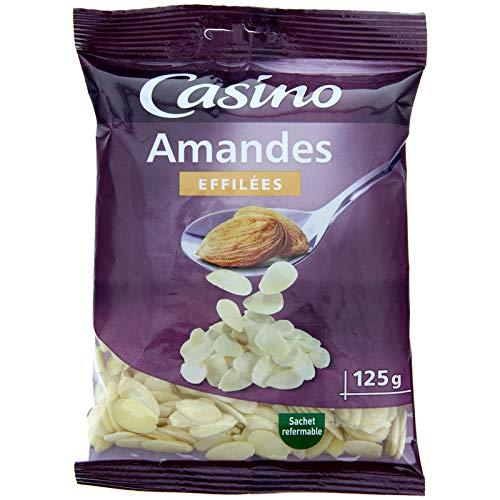 CASINO Amandes Effilées 125 g