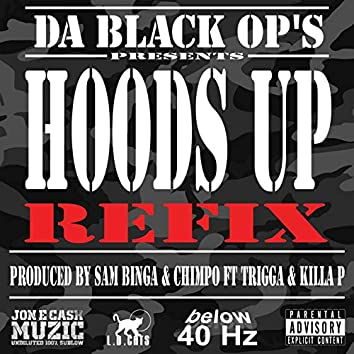 Hoods Up Refix (feat. Sam Binga, Chimpo, Trigga, Killa P)