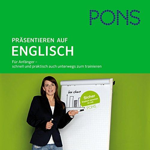 PONS mobil Sprachtraining. Aufbau Präsentieren auf Englisch Titelbild
