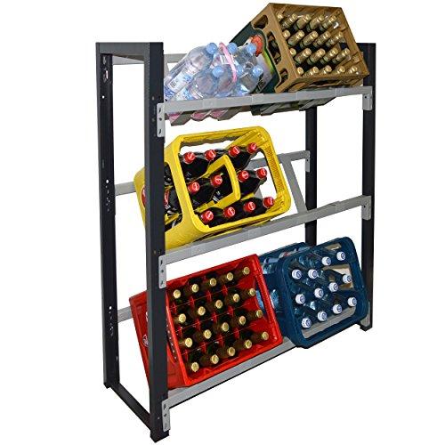 Getränkekistenregal für 6 Kisten (Hauptregal)