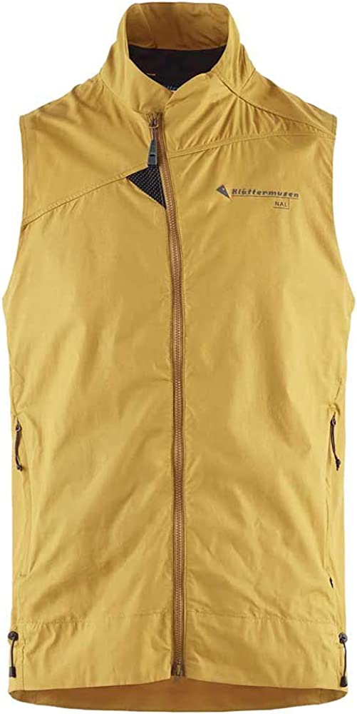 Klattermusen Nal Vest, Men's, Honey, Extra Large, 10617M91-405-XL