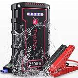 【さらに30%OFF!】TrekPow A18TJ2500 - バッテリー容量18,000mAhなQC 3.0 & USB-Cスマホ急速充電対応ジャンプスターター