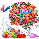 Globos de Agua 1000pcs Water Balloons de Colores, Juguete Acuático Niños, para Golpear el Agua en...