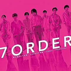 7ORDER「雨が始まりの合図」のCDジャケット