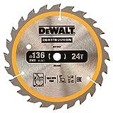 <span class='highlight'>Dewalt</span> Cordless 18V DT1947Circular SAEGE Blade 136/10mm 24WZ, 1 piece