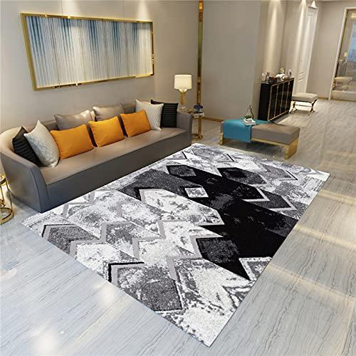 MENEFBS Alfombra mullida para sala de estar, antideslizante, para el dormitorio, suave y acogedora, alfombra de guardería, antideslizante, 80 x 160 cm