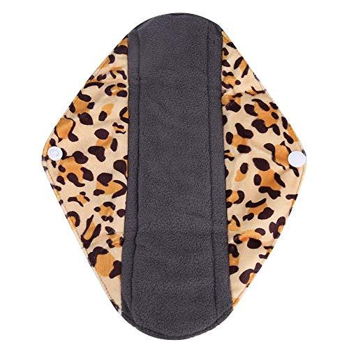 Menstrual Panty Pad, Herbruikbare Wasbare Panty Liner Bamboe Houtskool Doek Mama Sanitaire Menstrual Pad voor Comfort en Ondersteuning