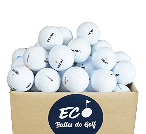 Second Chance golfballen 100 Wilson Ultra Quality Lake, wit, VAL-100-BOX-WILS