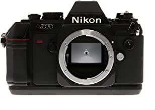 Nikon N2000 F-301 SLR film camera (body only, lens is not included)