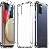 Ferilinso für Samsung Galaxy A02S / M02S Hülle + 2 Stück