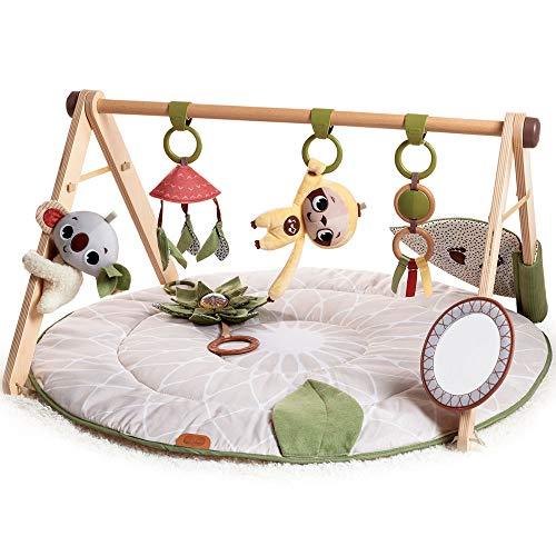 Tiny Love Boho Chic Luxe Developmental Gymini, Mantas de Actividades para Bebés, Juguete de Madera Arco, 0m +