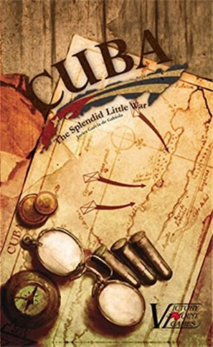 Cuba: The Splendid Little War - War Boxed Board Game by Victory Point Games