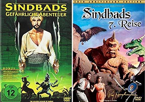 Sindbads gefährliche Abenteuer + Sinbads 7. Reise [DVD Set]