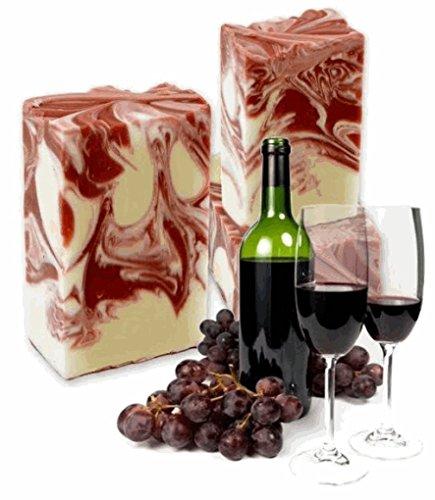 ANI® SAVON BACCHUS Naturseife (Rotwein Bordeaux) I 100 g I handgefertigte Seife mit natürlicher Rezeptur I Seifen Manufaktur Frankreich I ARTISANAL NATUR INSPIRATION