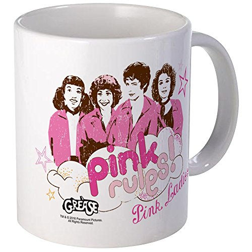 Grease Pink Rules Coffee Mug