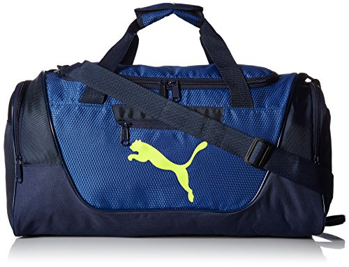 PUMA mens Contender Sports Duffel Bags, Navy, One Size US