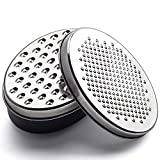 Cheese Grater With Airtight Storage Container - Vegetable Chopper, Kitchen Cutter, Shredder for Cheese & Vegetables (2-in-1)