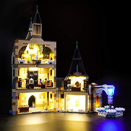 LIGHTAILING Conjunto de Luces (Harry Potter Torre del Reloj de Hogwarts) Modelo de Construcción de Bloques - Kit de luz LED Compatible con Lego 75948 (NO Incluido en el Modelo)