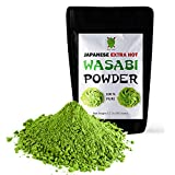 Dualspices Japanese Wasabi Powder 3.2 Oz (90 Grams) Extra Hot - No Fillers - 100% Pure
