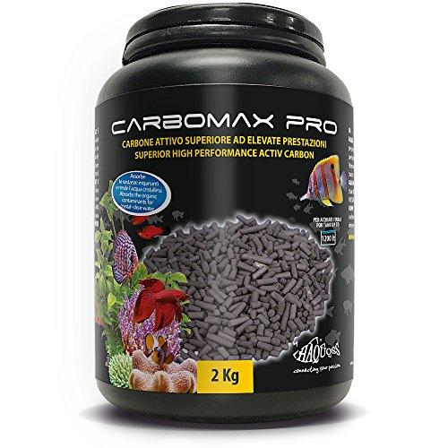 Haquoss Carbomax PRO Materiale Filtrante, 1.8Kg