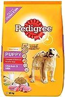 Pedigree Puppy Dry Dog Food, Chicken & Milk, 20kg Pack