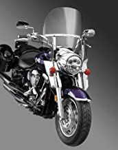 National Cycle Switchblade 2-Up Windshield (Clear) Compatible with 04-09 Honda VTX1300C