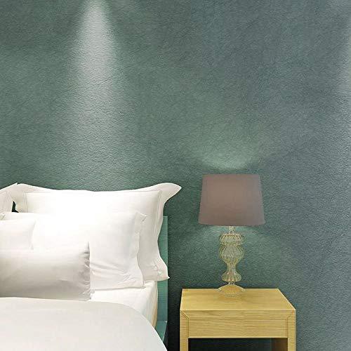 Fondo no tejido de papel tapiz rosado liso dormitorio sala de estar TV fondo mate papel tapiz de seda gris oscuro azul grisáceo N75215 verde pizarra