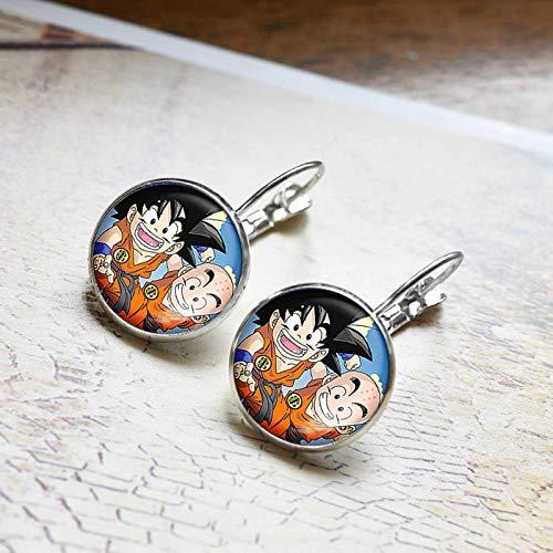 Bosi General Merchandise Pendientes de Dragon Ball, Gema del Tiempo, Accesorios de joyería, Regalos creativos, Coleccionables