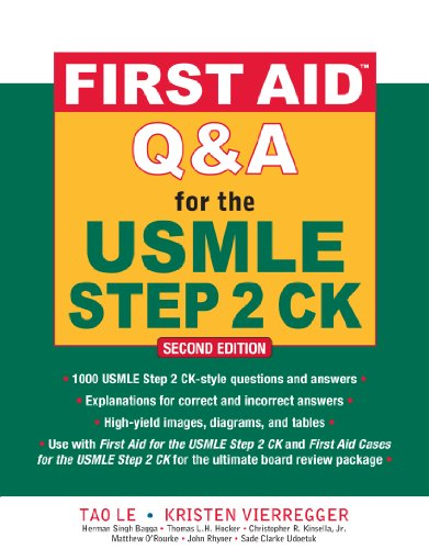 First Aid Q&A for the USMLE Step 2 CK, Second Edition (First Aid USMLE) (English Edition)