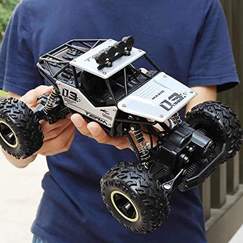 ZCYXQR 4WD 1:16 28cm RC Cars 2.4G Radio Control Juguetes Buggy Camiones de Alta Velocidad Off-Road para niños Coche Rock Climbi (Regalo de cumpleaños Festivo)