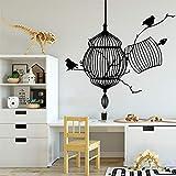 yaonuli Etiqueta de la Pared del pájaro Amante de los Animales Decoración de la casa Decoración de la Sala de jardín de Infantes Etiqueta de la Pared Decoración de la habitación de los niños 54x54cm