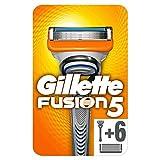 Gillette Fusion5 Rasoir Pour Homme + 6 Recharges