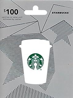 Starbucks $100 Gift Card (B015WTJ7D4) | Amazon price tracker / tracking, Amazon price history charts, Amazon price watches, Amazon price drop alerts
